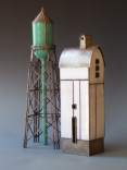 """Aqua Water Tower and Winter Barn II""