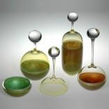 Description: blown glassDimensions: H:18.00 x W:5.00 x D:5.00 Inches